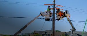 Superior Energy Solutions bucket truck services